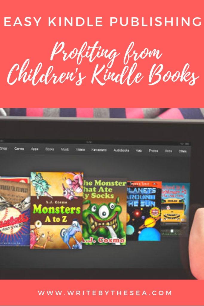 self publish children's books