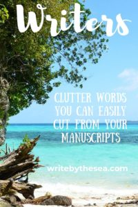 words to cut from your manuscript